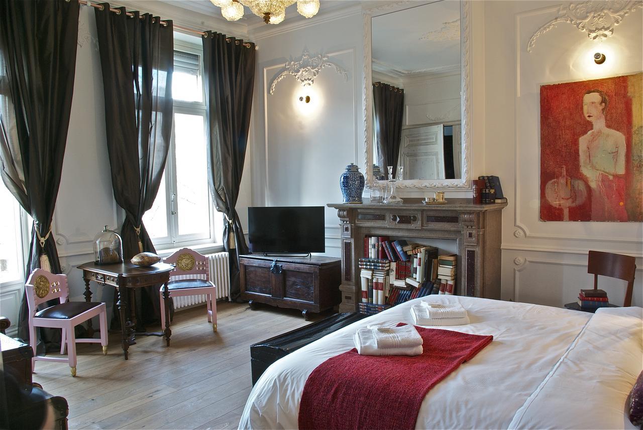 Kamer in het Au Lit Jerome Bed and Breakfast in Antwerpen