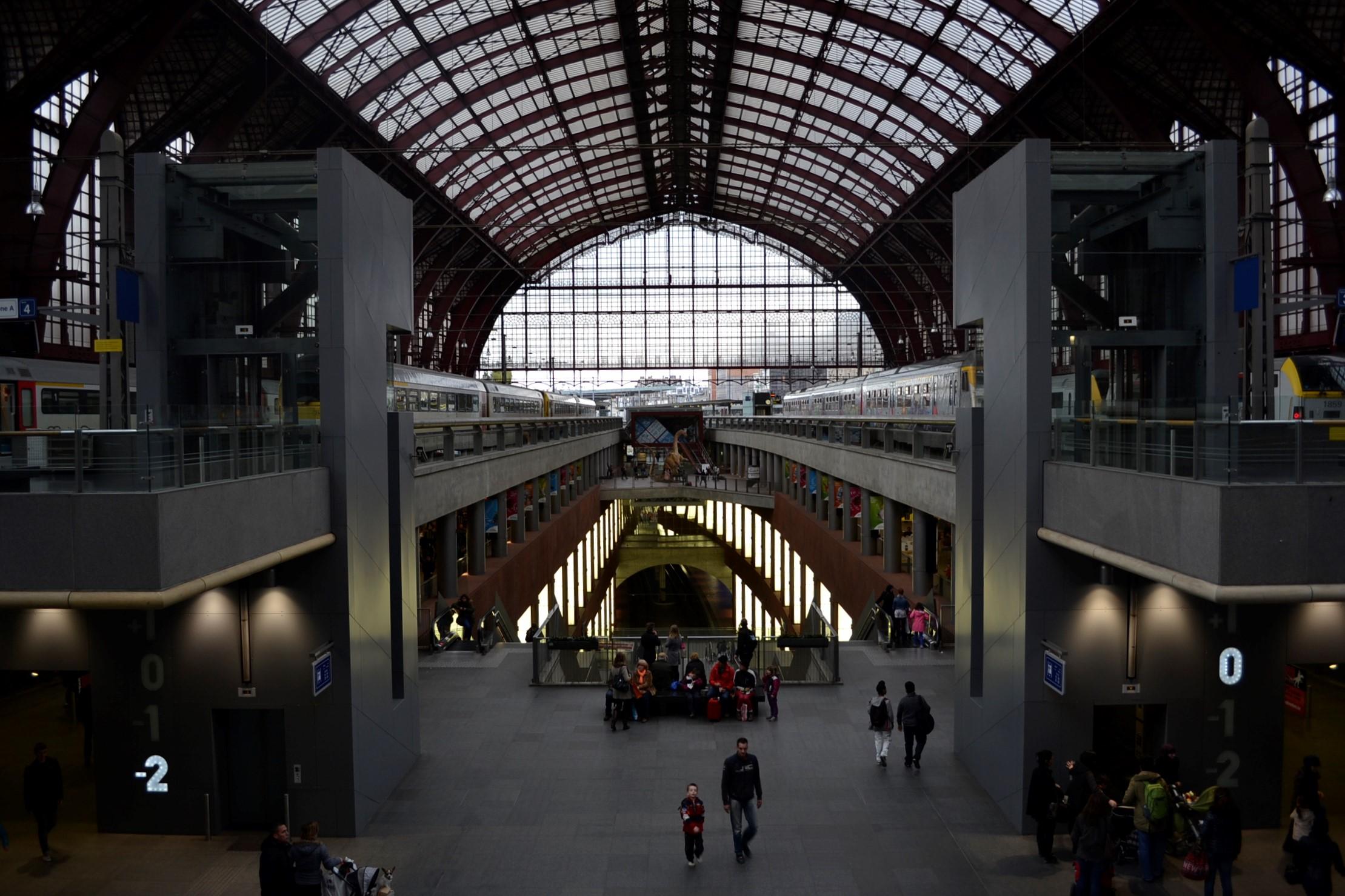 Aankomsthal Antwerpen Centraal