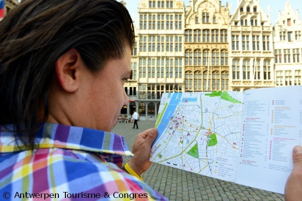 The free city map with your Antwerp City Card