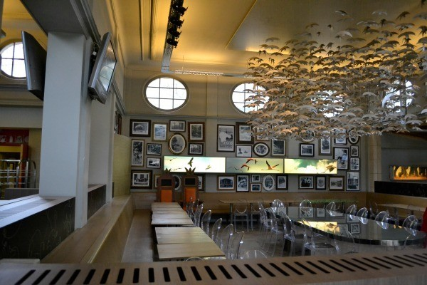 Antwerp Zoo restaurant
