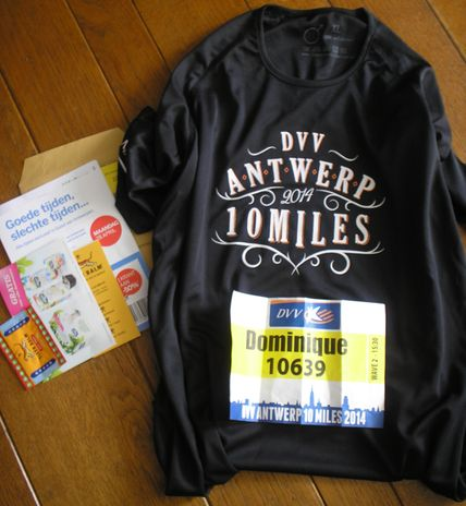 Runner's pack Antwerp 10 Miles