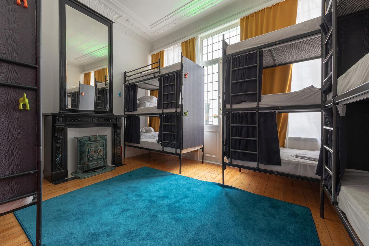 The Antwerp Hostel rooms