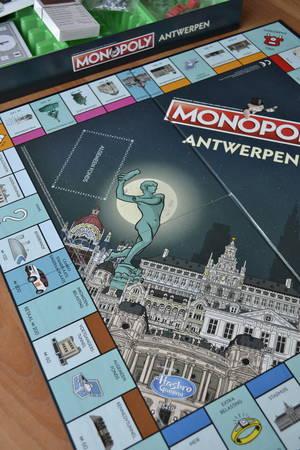 Vastgoedspel Monopoly Antwerpen