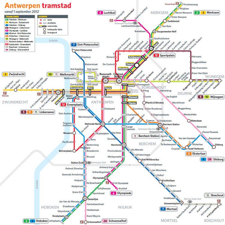 Antwerp Tram Network
