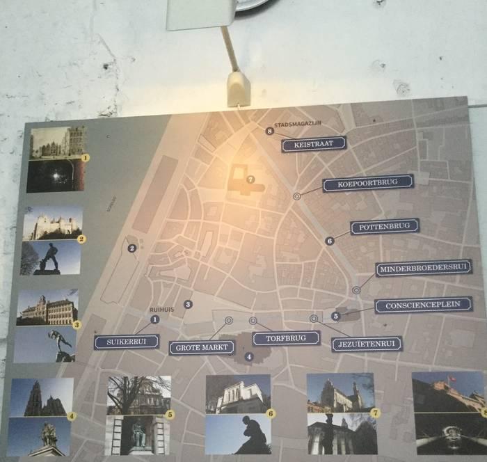 De Ruien Antwerpen - de wandeling
