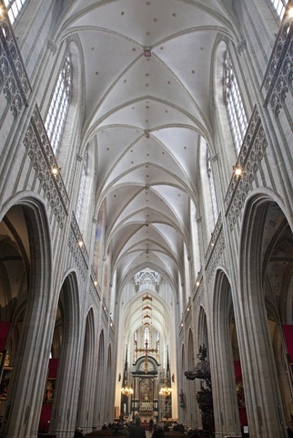 Interior Antwerp Cathedral