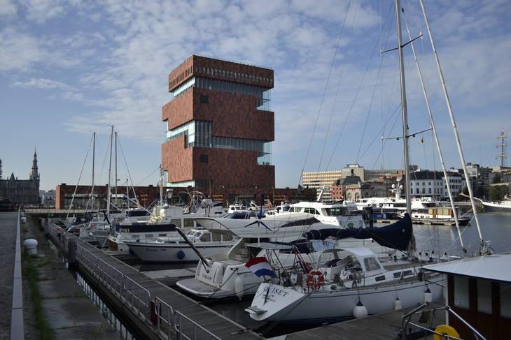 Yacht Marina Willemdok Antwerp