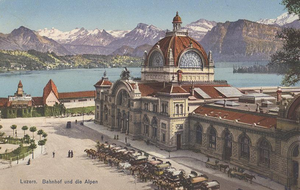 Luzern Railway Station