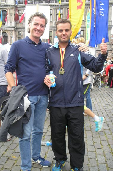 An Antwerp 10 Miles finisher!