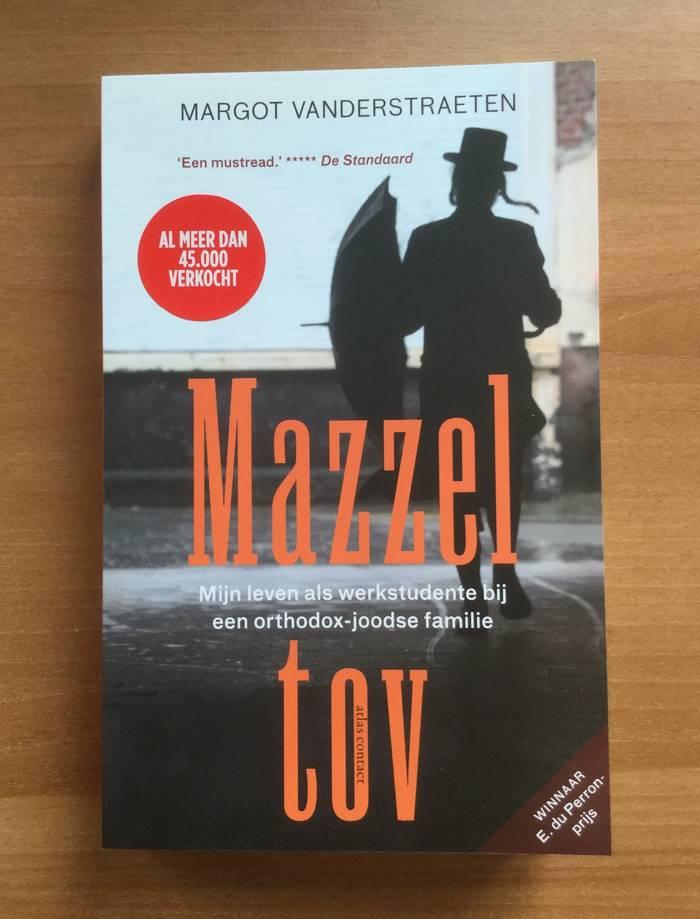 Het boek Mazzel Tov van Margot Vanderstraeten