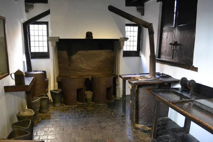 De Lettergieterij in het Museum Plantin Moretus in Antwerpen