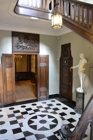 De hal van het woonhuis, Museum Plantin Moretus Antwerpen