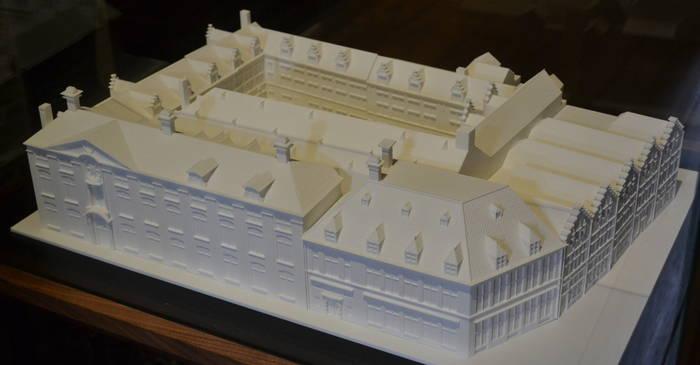 Museum Plantin Moretus Antwerpen - maquette