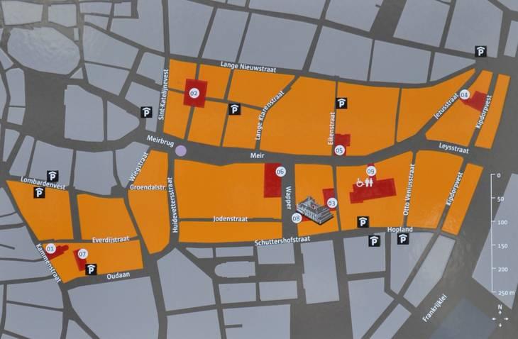 Wijk Meir kaart