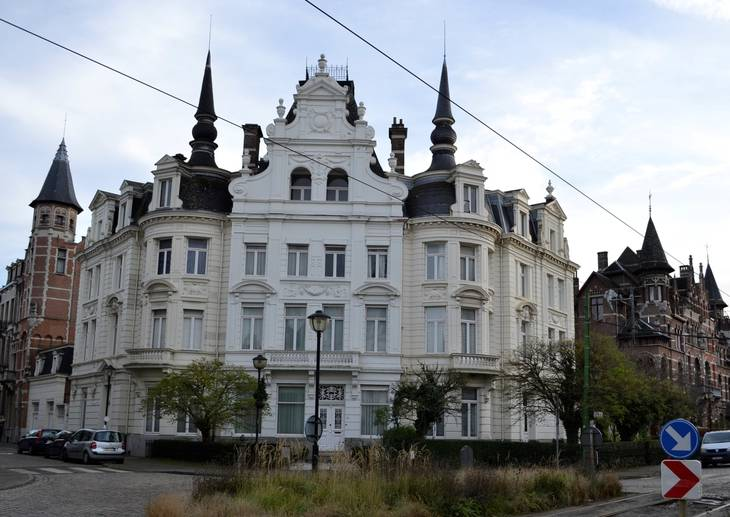 De Witte Paleizen van de Zurenborg