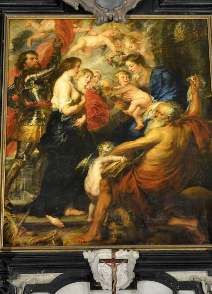 Rubens- Madonna with Saints