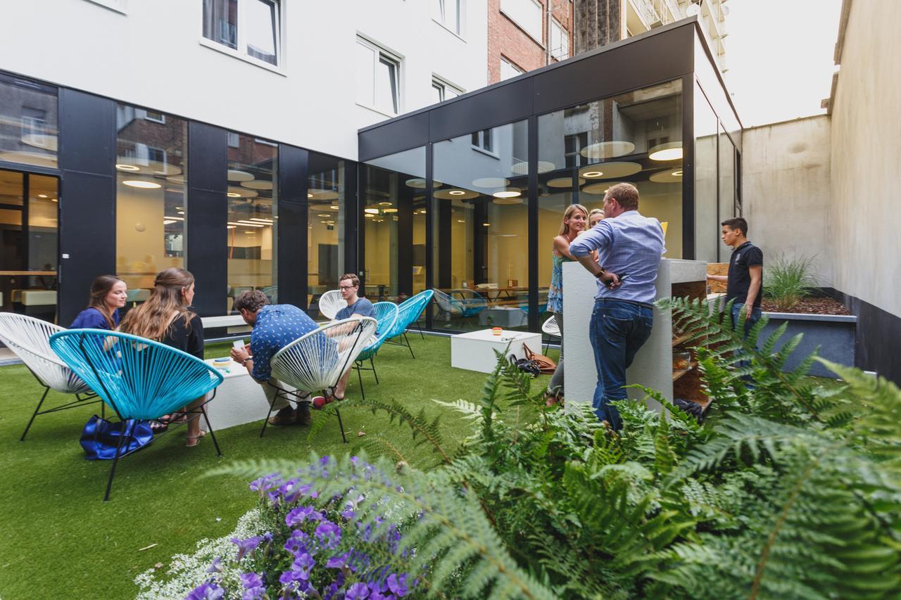 The ASH Antwerp garden to relax