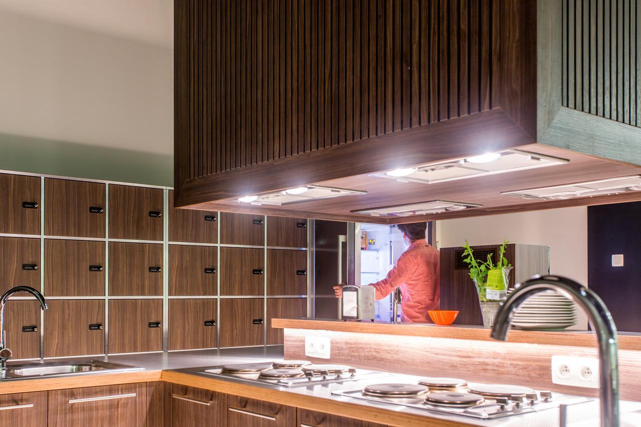 The ASH Antwerp kitchen