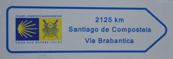 Santiago De Compostela - Via Brabantica - Antwerp