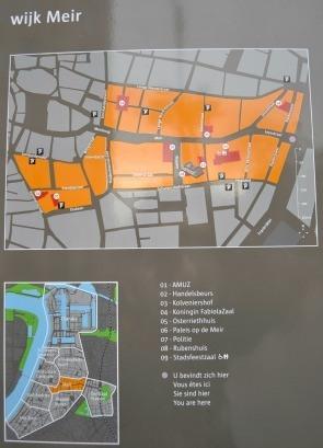 Antwerp neighbourhood Meir