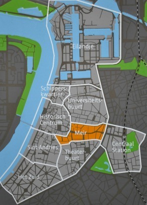 Antwerp neighbourhoods