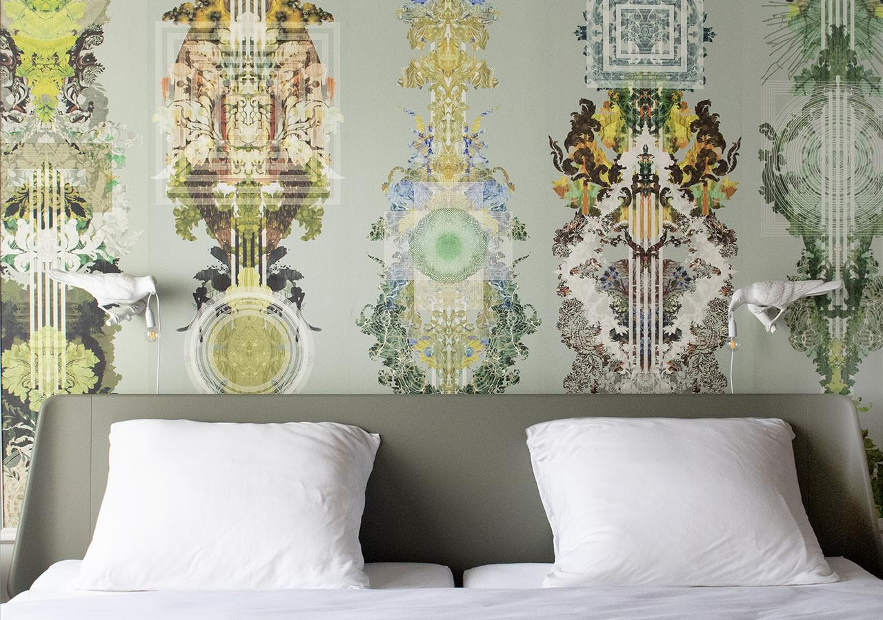 Beautiful sleeping room at B and B The Greenhouse in Antwerp