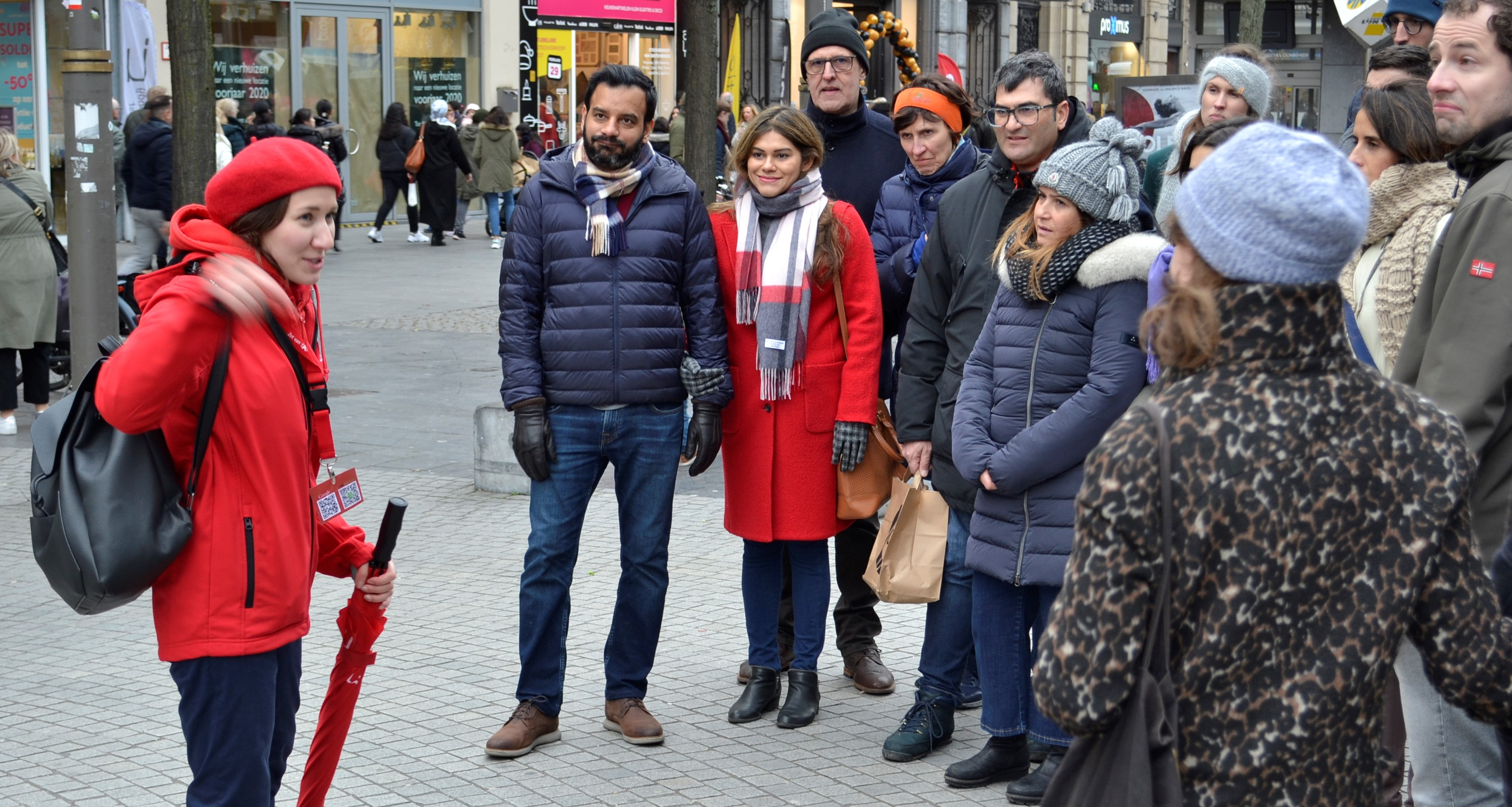 Antwerp Walking Tour with guide