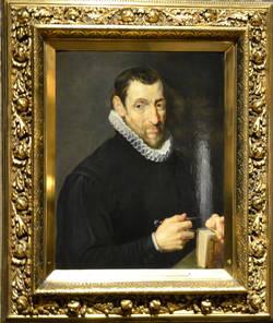 Christoffel Plantin, portret door Peter Paul Rubens